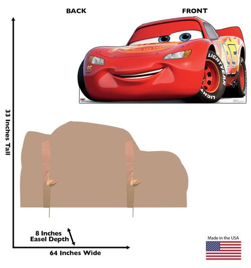 Lightning McQueen-Cars 3 Cardboard Cutout 2424