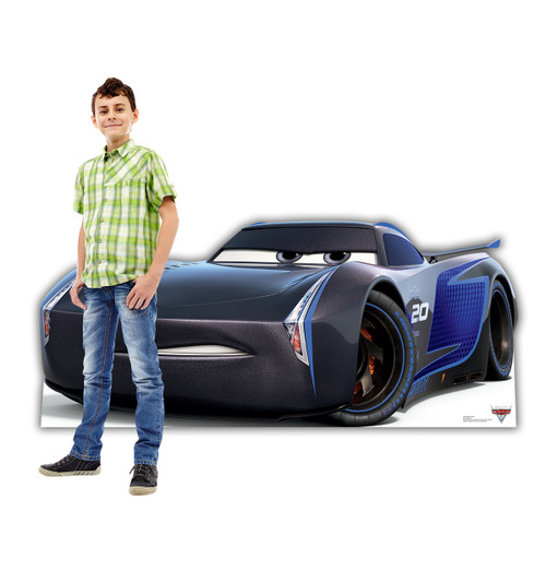 Life-size Jackson Storm (Cars 3) Cardboard Standup 2