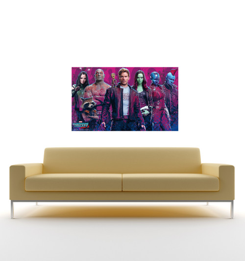 Life-size Guardians of the Galaxy Vol 2 Walljammer Wall Decal