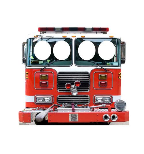 Life-size Fire Truck Standin Cardboard Standup