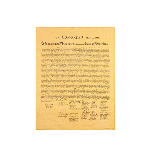 Life-size Declaration of Independence Cardboard Cutout Cardboard Standup