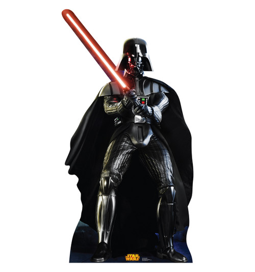 Life-size Darth Vader (Retouched) Cardboard Standup | Cardboard Cutout