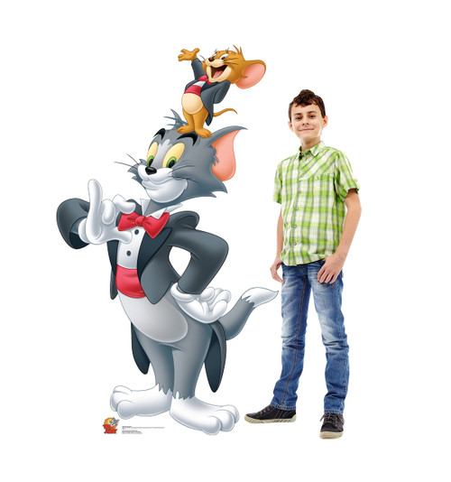 Life-size Tom and Jerry Cardboard Standup 2