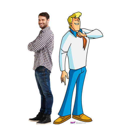 Life-size Fred (Mystery Incorporated) Cardboard Standup 2