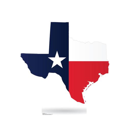 Life-size Texas State Cardboard Standup