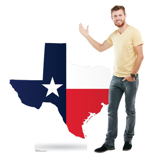 Life-size Texas State Cardboard Standup 2