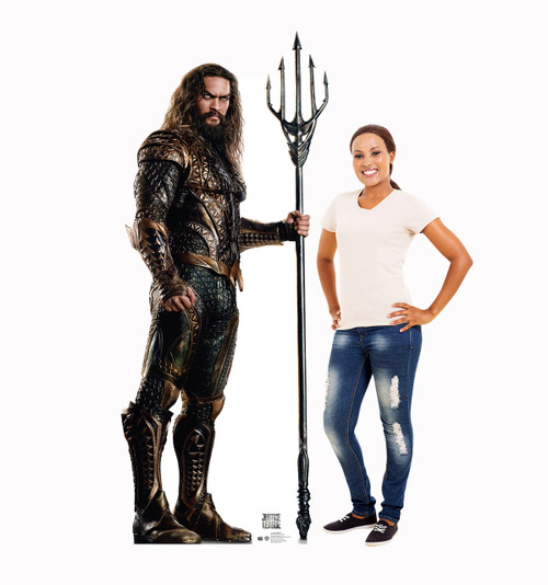 Aquaman (Justice League)-Cardboard Cutout-lifesize