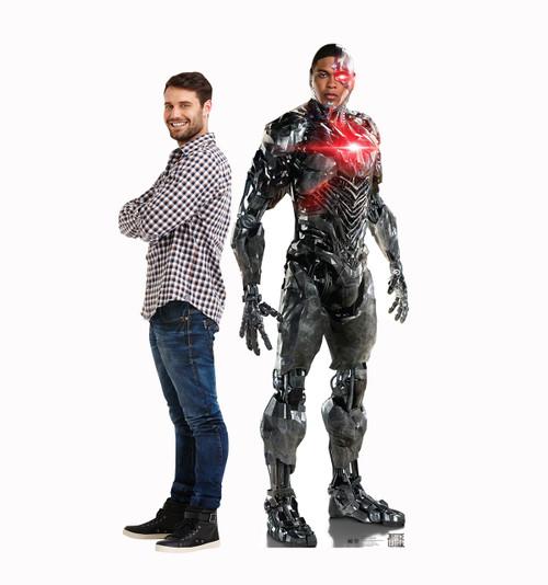 Cyborg (Justice League) Cardboard Standup Cutout 2