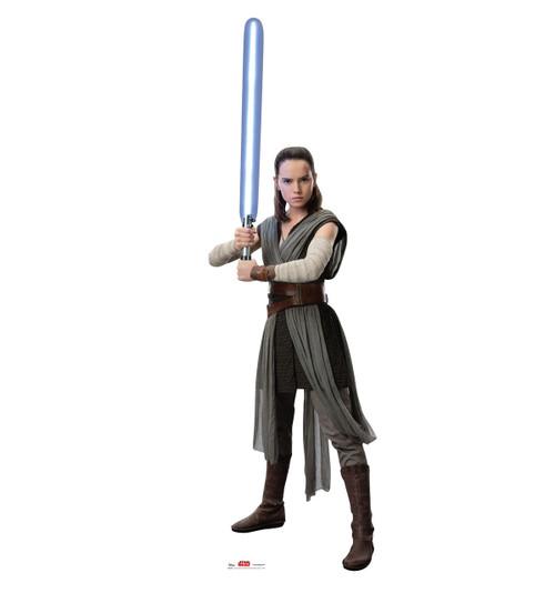 Rey - Star Wars: The Last Jedi Life-Size Cardboard Cutout 1