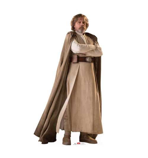 Luke Skywalker - Star Wars: The Last Jedi Life-Size Cardboard Cutout 1