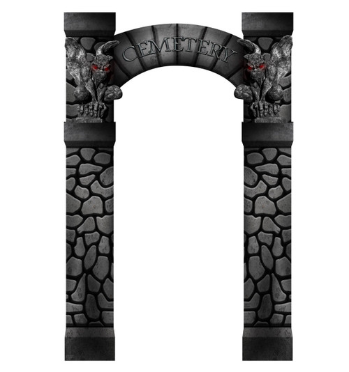 Cemetery Arch Entrance 1