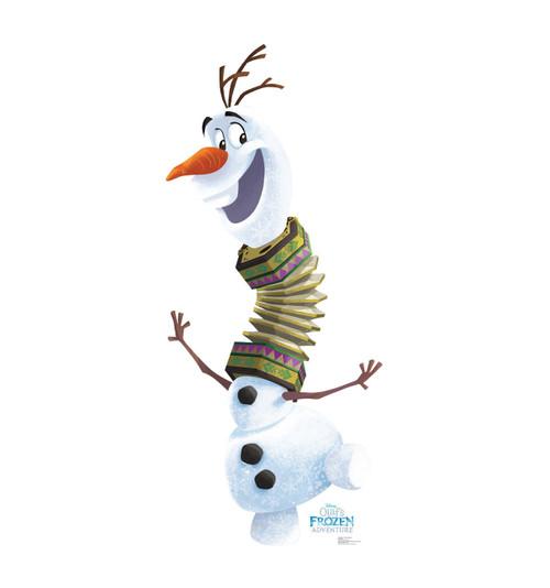 Olafs Frozen Adventure   Cardboard Cutout 1