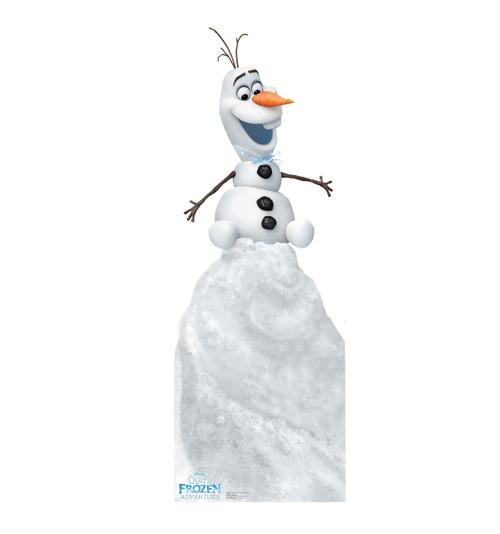 Olaf on Snow Mound (Olafs Frozen Adventure)   Cardboard Cutout 1