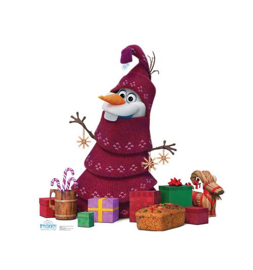 Olaf Knitted Tree (Olafs Frozen Adventure) | Cardboard Cutout 1