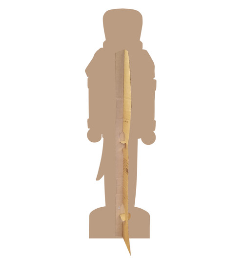 Nutcracker Soldier Cardboard Cutout-backview