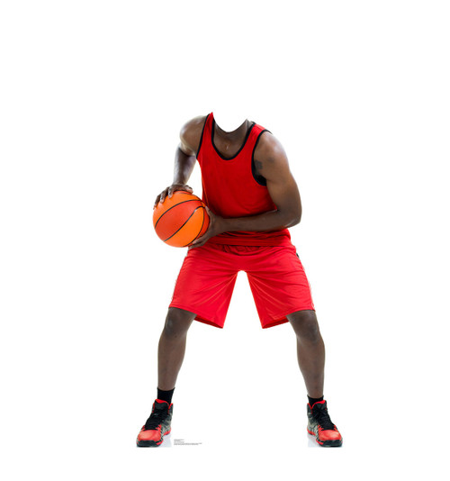 Life-size Basketball Player Stand-In Cardboard Standup | Cardboard Cutout 1