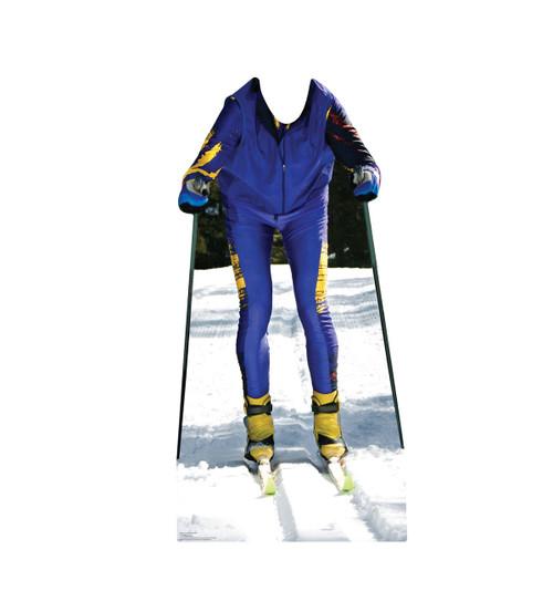 Cross Country Ski Standin Cardboard Cutout-front