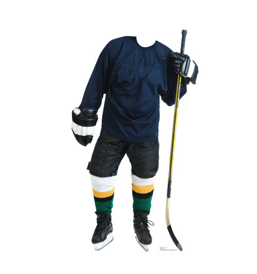Hockey Player Standin Cardboard Cutout-front