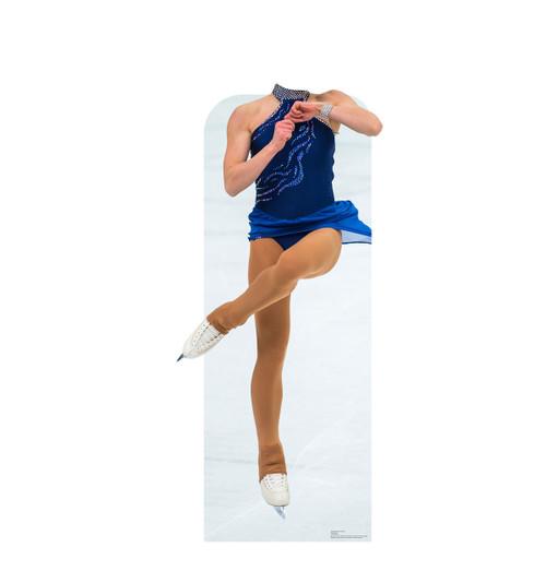 Figure Skater Standin Cardboard Cutout-front