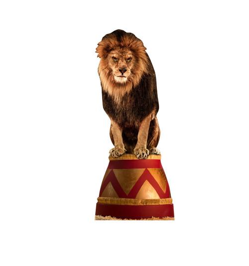 Circus Lion Cardboard Cutout 2691