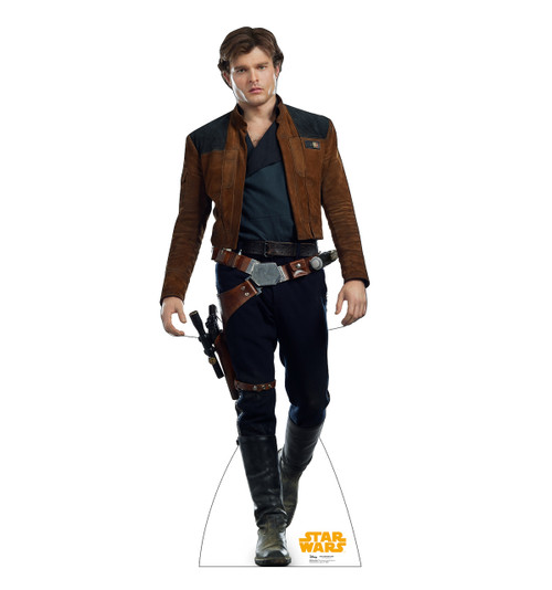 Han Solo™ Life-size cardboard standee front view.