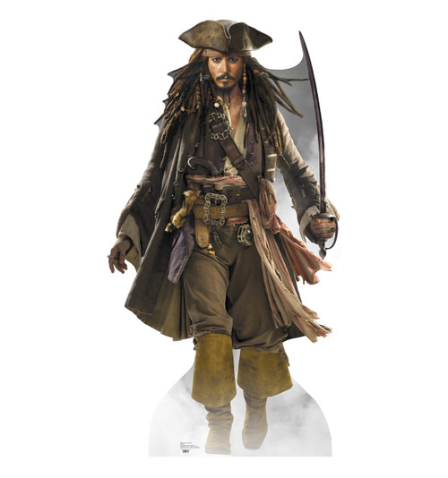 Jack Sparrow Cardboard Cutout 690