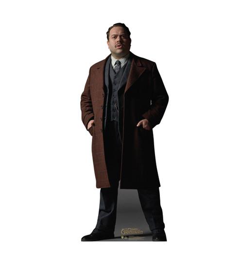 Jacob Kowalski Lifes-size Cardboard Standee.