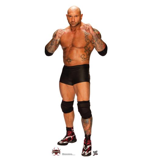 Life-size Batista - WWE Cardboard Standup | Cardboard Cutout