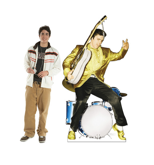 Elvis Drums - Talking Cardboard Cutout 499T