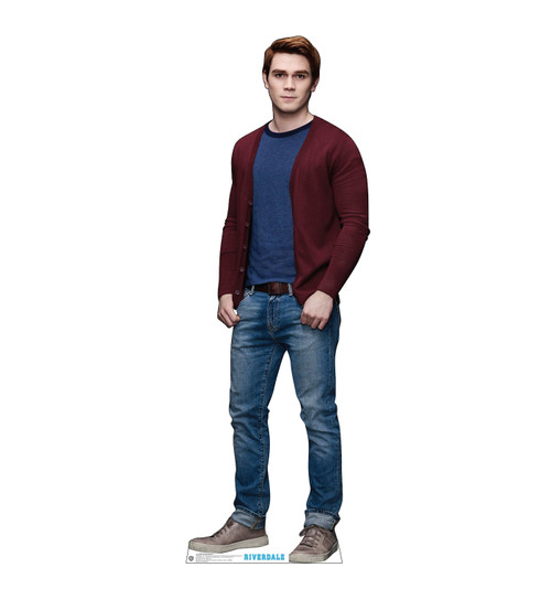 Life-size cardboard standee of Archie Andrews from the TV Series Riverdale.