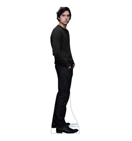 Life-size cardboard standee of Jughead Jones from the TV Series Riverdale.