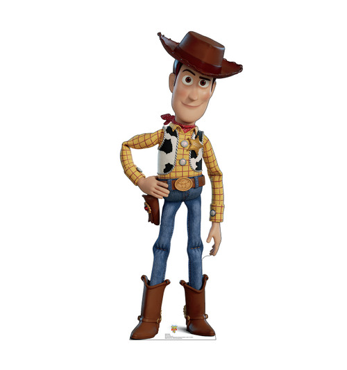 Woody - Toy Story 4 Cardboard Cutout Front View