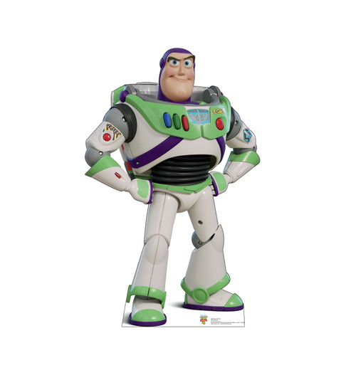 Buzz Lightyear - Toy Story 4 Cardboard Cutout Front View