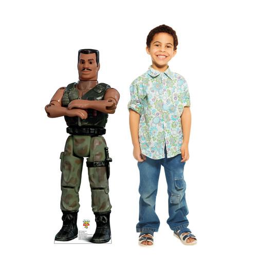 Combat Carl - Toy Story 4 Cardboard Cutout Lifesize