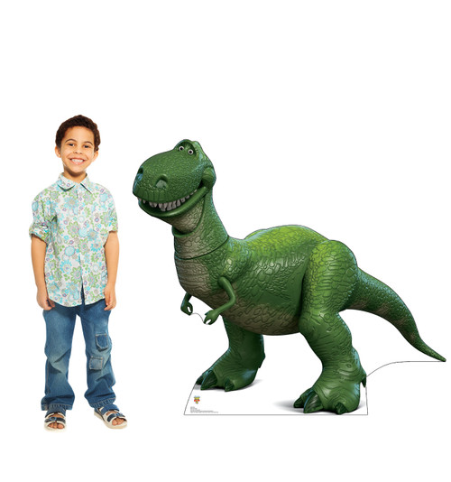 Rex - Toy Story 4 Cardboard Cutout Lifesize