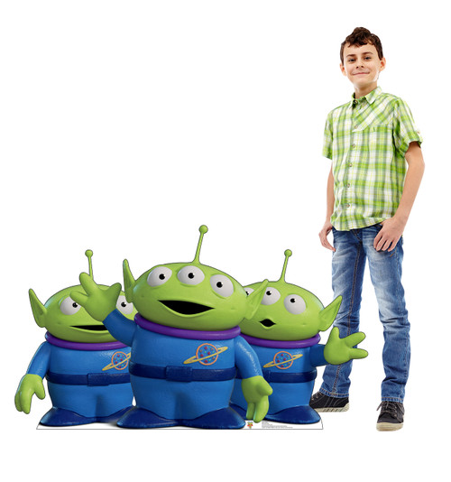 Aliens - Toy Story 4 Cardboard Cutout Lifesize