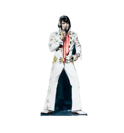 Elvis Presley - White Suit Cardboard Cutout 391