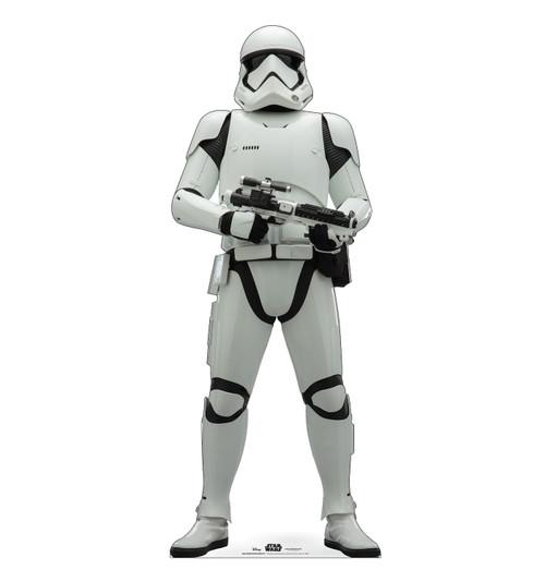 Life-size cardboard standee of Stormtrooper Infantry™ (Star Wars IX).