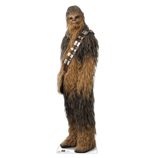 Life-size cardboard standee of Chewbacca™ (Star Wars IX).