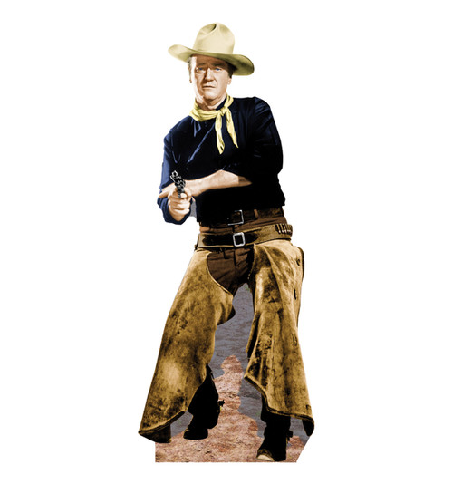 Life-size John Wayne with Chaps Cardboard Standup | Cardboard Cutout