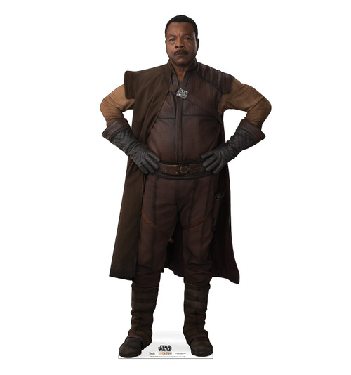 Life-size cardboard standee of Greef Karga from The Mandalorian.