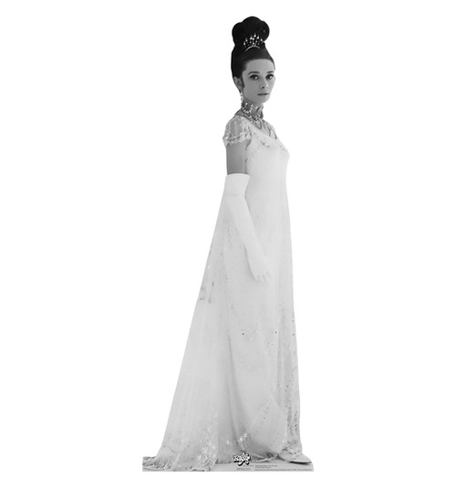 Life-size Audrey Hepburn in My Fair Lady Cardboard Standup | Cardboard Cutout