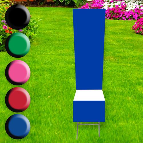 Symbol ! yard sign