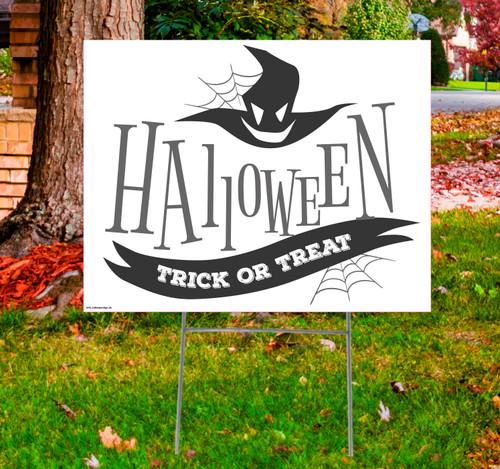 Coroplast outdoor Halloween Sign 05.