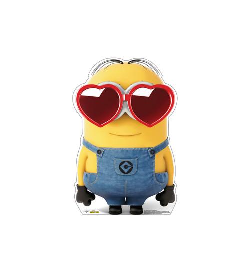 Life-size cardboard standee of Bob Heart Sunglassess.