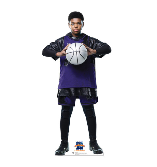 Life-size cardboard standee of Dom from Space Jam A New Legacy.