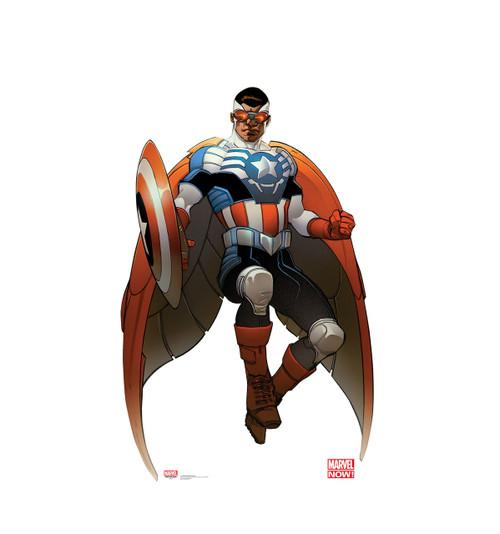 Life-size Captain America - Marvel Now! Cardboard Standup | Cardboard Cutout