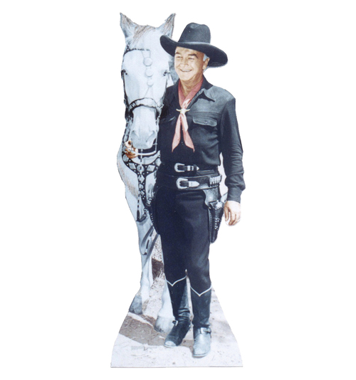 Life-size Hopalong Cassidy Cardboard Standup | Cardboard Cutout