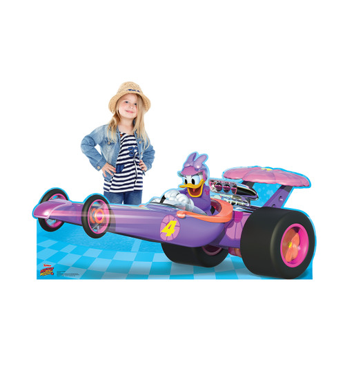 Life-size Daisy Roadster (Disney's Roadster Racers) Cardboard Standup | Cardboard Cutout 2