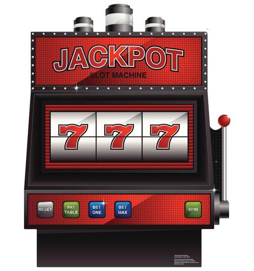 Vegas Slot Machine Cardboard Cutout 1843